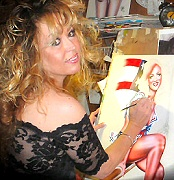 Elizabeth Austin pin-up artist