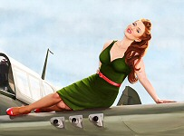 Kelly X pinup girl