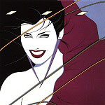 Patrick Nagel pinup art gallery