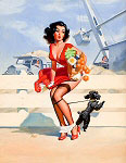 Jay Scott Pike pinup art gallery