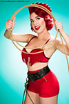 Riley Kern pinup photography gallery