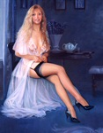 Edward Tadiello pinup art gallery
