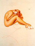 George Petty pinup girl