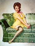 Donald Rust pinup girl